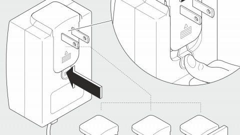 Illustration in 2D: Adapter
