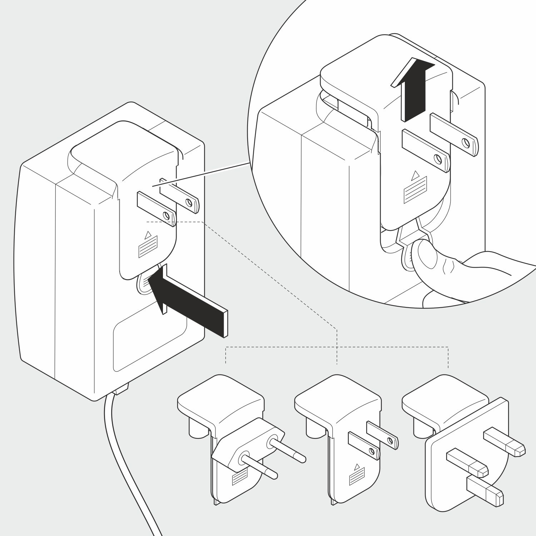 Illustration in 3D, Adapter