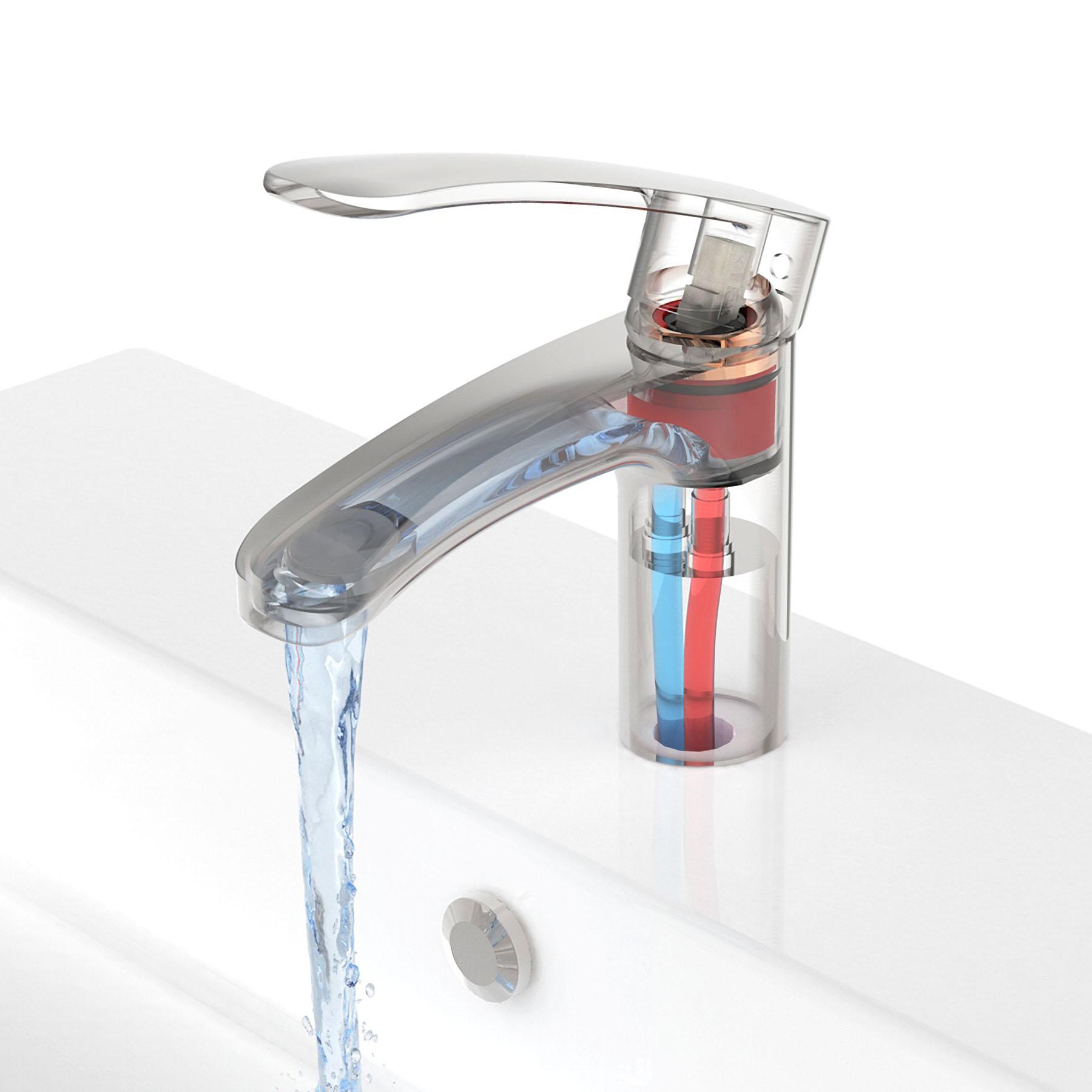 Technische Illlustration Wasserhahn